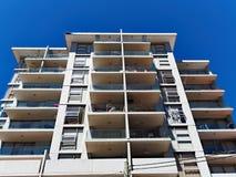 Wielo- Równi mieszkanie balkony Zdjęcie Royalty Free