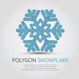 Wieloboka płatek śniegu Zdjęcia Royalty Free