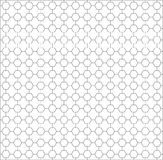 Wieloboka tło bezszwowy wzoru nowożytny sześciokąta wieloboka bla Zdjęcie Stock