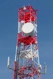 Wielofunkcyjny telekomunikaci wierza Fotografia Stock