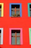wielokrotne okno Fotografia Royalty Free