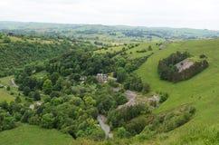 Wielomiejscowa dolina, Staffordshire, Anglia Obrazy Royalty Free