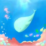 wieloryb Obrazy Royalty Free