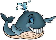 wieloryb radosny ilustracja wektor