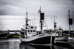 Wielorybie dopatrywanie łodzie zdjęcia stock