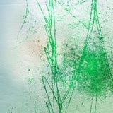 Wieloskładnikowa wartość cementu ściana z ampuła narysami na tynku Obrazy Royalty Free