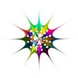 Wieloskładnikowego colour nowożytny abstrakcjonistyczny tło ilustracja wektor