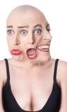 Wieloskładnikowej osobowości pojęcie Zdjęcia Royalty Free