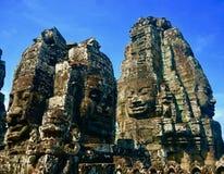 Wieloskładnikowi twarzy cyzelowania bayan świątynia zdjęcia royalty free