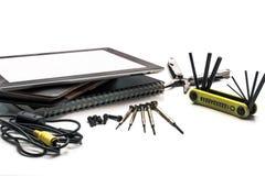 Wieloskładnikowy narzędzie zestaw Zdjęcia Stock
