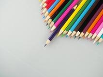 wielostronny charakteru ołówek Fotografia Royalty Free