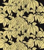 wielostrzałowa liść tapeta ilustracja wektor