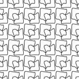 Wielostrzałowy geometryczny bezszwowy wzór Obraz Royalty Free