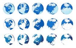wielu świat royalty ilustracja