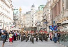 Wien, Österreich Stockfotografie