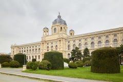 Wien, Österreich - 15. April 2018: Maria Theresa Square Das Kunsthistorisches-Museum Stockbild