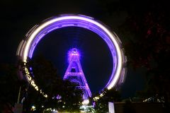 Wien Österreich Ferris Wheel Icon stockfotografie