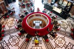 WIEN ÖSTERRIKE - JUNI 6: Härlig inre av th Royaltyfri Foto
