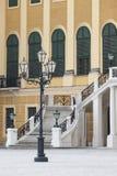 WIEN ÖSTERRIKE - JUNI 17: Schonbrunn slott på Juni 17, 2016 in Royaltyfria Bilder