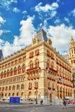 WIEN ÖSTERRIKE SEPTEMBER 10, 2015: Wien stadshus (Rathau Fotografering för Bildbyråer