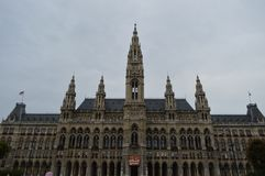 Wien Δημαρχείο Στοκ εικόνα με δικαίωμα ελεύθερης χρήσης
