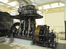 26 05 2018, Wien, Австрия: Гигантский паровой двигатель с электрическим powe стоковое фото rf