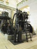 26 05 2018, Wien, Австрия: Гигантский паровой двигатель с электрическим powe стоковое фото