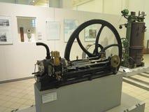 26 05 2018, Wien, Австрия: Старый паровой двигатель в вене технической стоковая фотография