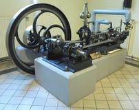 26 05 2018, Wien, Австрия: Старый паровой двигатель в вене технической стоковые фотографии rf
