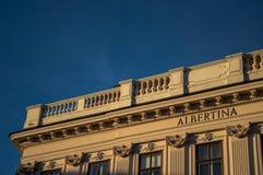 Wien alberten o museu fotografia de stock