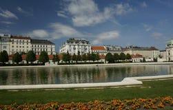 Wien-Ansicht Stockbild