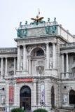 WIEN AUSTRIA/EUROPE - SEPTEMBER 22: En sikt av österrikaren N royaltyfri bild
