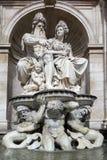 WIEN AUSTRIA/EUROPE - SEPTEMBER 22: Franz Joseph I monument Fotografering för Bildbyråer