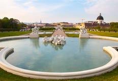Wien, Belvedere Stock Image