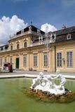 Wien - Belvedere, niedriger Stockfoto