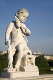 Wien - Belvederepalast - Statue Stockbilder