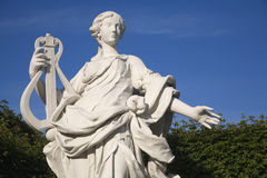Wien - Belvederepalast - Statue Stockfotografie