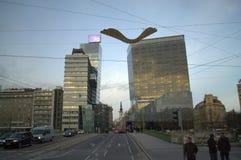Wien-Boulevardansicht Stockfotos