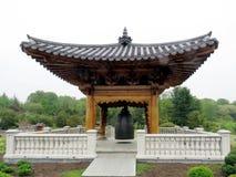 Wien den koreanska paviljongen Klocka av fred 2016 Arkivbilder