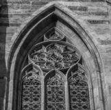 Wien detalha o arco da igreja imagens de stock