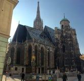 Wien domkyrka royaltyfri foto