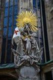 Wien - domkyrka för St Stephan, Österrike Arkivfoto