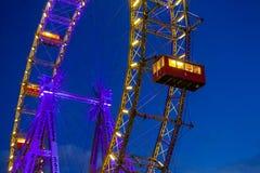 Wien, ein Abend im Prater Stockfoto