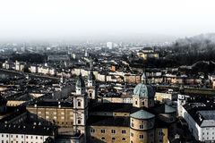 Wien an einem bewölkten Tag Lizenzfreie Stockbilder