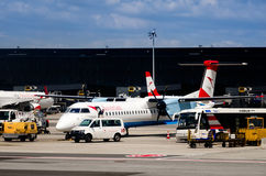 Wien Flughafen Airport Stock Photography