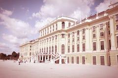 Wien gränsmärke royaltyfri fotografi