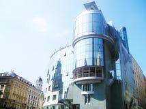 Wien hans hollein Royaltyfri Bild