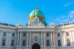 Wien Hofburg imperialistisk slott arkivbild