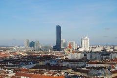 Wien horisont Arkivbild