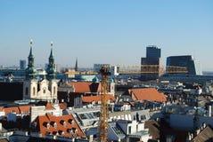 Wien horisont Arkivbilder